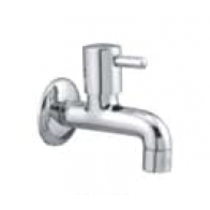 Quarter Turn Faucets- Bib Cock with Wall Flange -  A-803