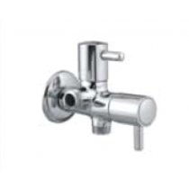 Quarter Turn Faucets- Two Way Angle Cock with wall flange- A-808