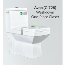 One Piece Wash Down Water Closet - Avon - PX-C-728
