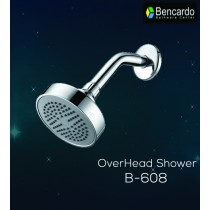 ABS Overhead Shower, Single Function -  B-608