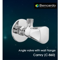Quarter Turn Faucets- Angle valve with Flange-  C-860