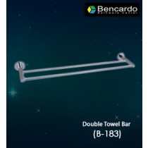 Bathroom Accessory  - Double Towel Bar - B-183