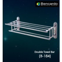 Bathroom Accessory  - Double Towel Bar - B-184