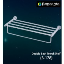 Bathroom Accessory  - Double Bath Towel Self - B-178