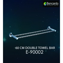 Bathroom Accessory  - 60 CM Double Towel Bar - E-90002