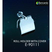 Bathroom Accessory - Roll Holder with Cover -  E-90111