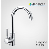 Sink Faucet Single Lever Sink Mixer With Swinging Spout With 500mm Long Braided Hoses G-513