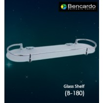 Bathroom Accessory  - Glass Shelf  - B-180