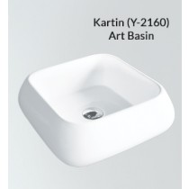 Ceramic Above Counter Wash Basin - Kartin - PX(Y-2160)