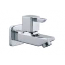 Quarter Turn Faucets- Bib Cock with Wall Flange - L842