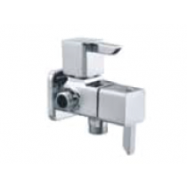 Quarter Turn Faucets- Two Way Angle Cock with wall flange- L847