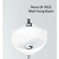 Ceramic Wall Hung Wash Basin- Nova PX(A-962)