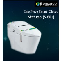 Siphonic One Piece Smart Closet- Attitude- S-801