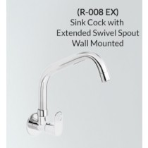 Sink Cock with Extended Swivel Spout - R-008 EX