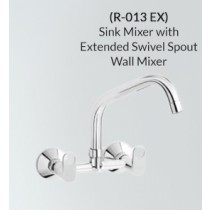Sink Mixer with Extended Swivel Spout
