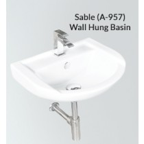 Ceramic Wall Hung Wash Basin- Sable PX(A-957)