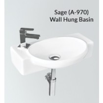 Ceramic Wall Hung Wash Basin- Sage PX(A-970)