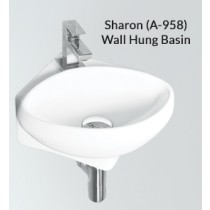 Ceramic Wall Hung Wash Basin- Sharon PX(A-958)