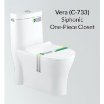 One Piece Siphonic Water Closet - PX-C-733