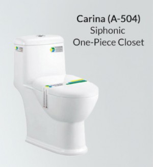 Siphonic One Piece Toilet A-504