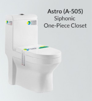Siphonic One Piece Toilet A-505
