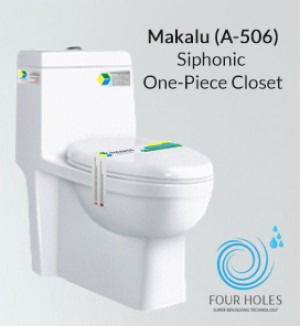 Siphonic One Piece Toilet A-506