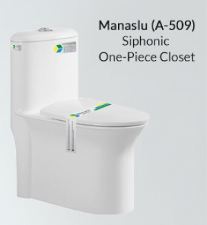 Siphonic One Piece Toilet A-509