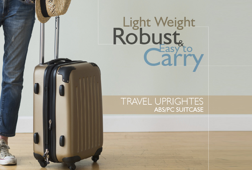 Travel Uprights | ABS-PC Suitecase